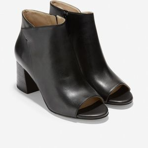 Cole Haan Anisha Bootie in Black and Brown